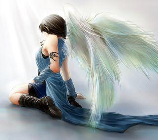 Обои на телефон фантазия, рисунки, девушки, ангел