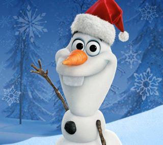 Обои на телефон холодное, счастливые, счастливое, снеговик, рождество, олаф, зима, happy