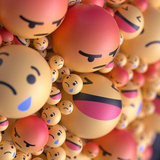 Обои на телефон изображения, эмоджи, шары, черные, счастливые, смайлы, лица, белые, happy