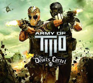 Обои на телефон пс3, два, армия, army of two