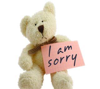 Обои на телефон тедди, приятные, поговорка, новый, милые, любовь, крутые, sorry, note, love, cute apologise, apology, 2013