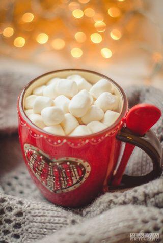 Обои на телефон зефир, зима, cozy, cocoa