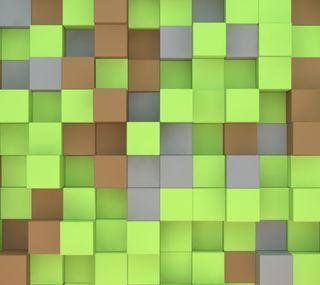 Обои на телефон мой, майнкрафт, кубы, крафт, абстрактные, minecraft cubes, mine-craft cubes