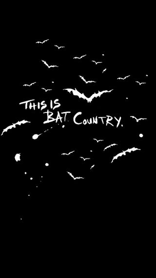Обои на телефон страх, страна, летучая мышь, this is bat country, loathing, fearandloathing