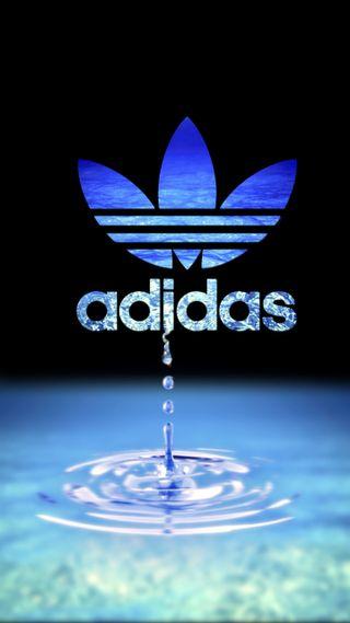 Обои на телефон адидас, логотипы, вода, adidas