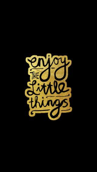 Обои на телефон дела, черные, цитата, наслаждаться, музыка, лил, золотые, жизнь, галактика, galaxy, enjoy the lil things