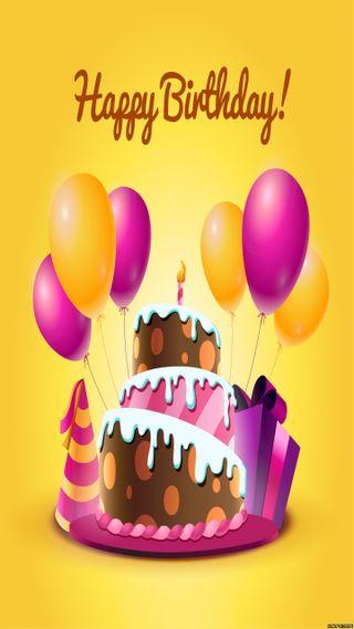 Обои на телефон торт, шары, счастливые, любовь, love, cake and balloons
