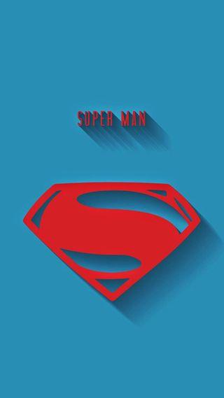 Обои на телефон супергерои, супермен