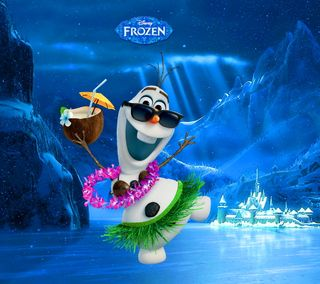 Обои на телефон холодное, фильмы, снеговик, персонажи, олаф, мультфильмы, olaf snowman, frozen movie 2013