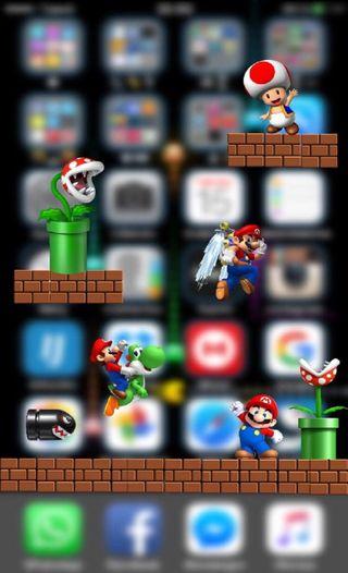 Обои на телефон марио, игровые, классные, винтаж, mario awesome