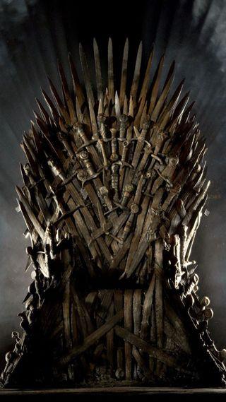 Обои на телефон игра, престолы, трон