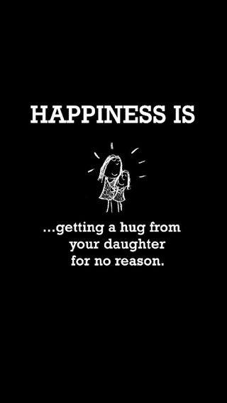 Обои на телефон обнимать, счастье, счастливые, семья, happy, happiness is, daughter