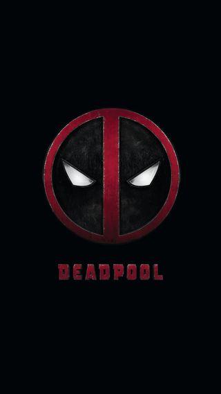 Обои на телефон дэдпул, марвел, логотипы, marvel, deadpool logo