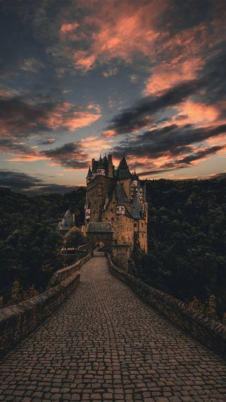 Обои на телефон шотландия, архитектура, замок, resullcanndemirrx, kule