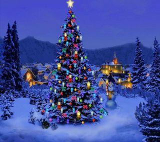 Обои на телефон год, цитата, рождество, приятные, пожелание, поговорка, новый, крутые, дерево, hd, 2014