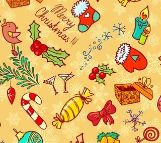 Обои на телефон свечи, счастливое, сладости, рождество, конфеты, cane