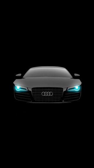Обои на телефон черные, свет, огни, машины, логотипы, крутые, ауди, авто, rs8, audi
