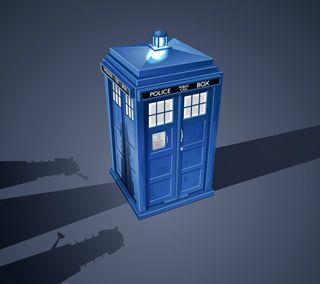 Обои на телефон тардис, доктор, синие, кто, коробка, the tardis, dalek