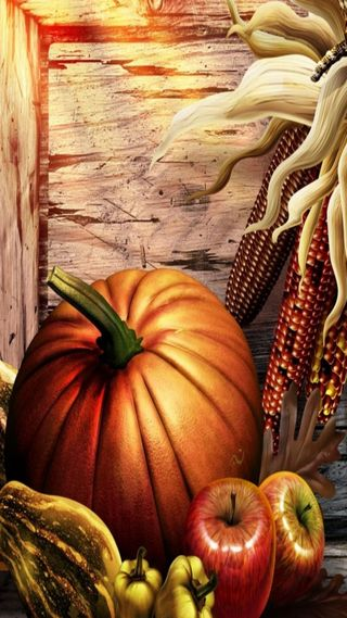 Обои на телефон благодарение, праздник, осень