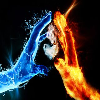 Обои на телефон огонь, сердце, любовь, лед, айпад, love, hd