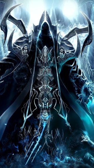 Обои на телефон жнец, души, диабло, reaper of souls, maltheal, diablo3