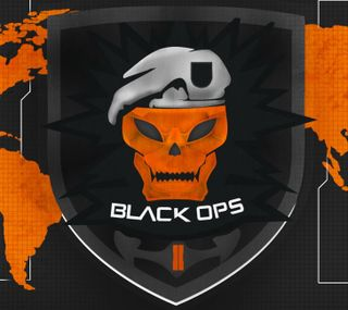 Обои на телефон значок, черные, cod, call of duty, black ops 2, black ops, badge black ops 2