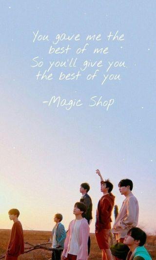 Обои на телефон магия, бтс, magic shop, bts magic shop, bts