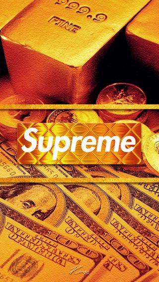 Обои на телефон черные, золотые, доллары, деньги, swag, supreme