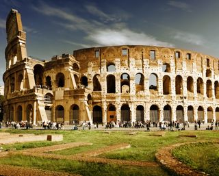 Обои на телефон рим, архитектура, италия, rome architecture, arena