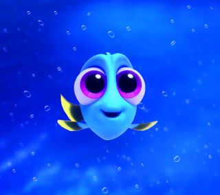 Обои на телефон анимация, фильмы, синие, рыба, немо, малыш, дори, finding