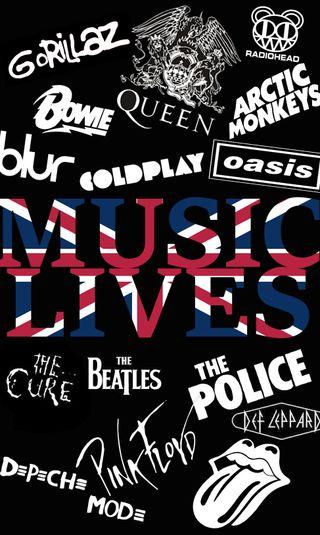 Обои на телефон группы, англия, рок, музыка, music lives