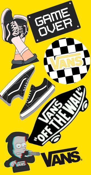 Обои на телефон скейт, vans
