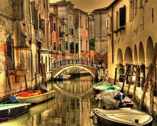 Обои на телефон италия, город, венеция, арт, art