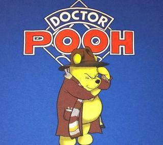 Обои на телефон пух, доктор, syfy, doctor pooh