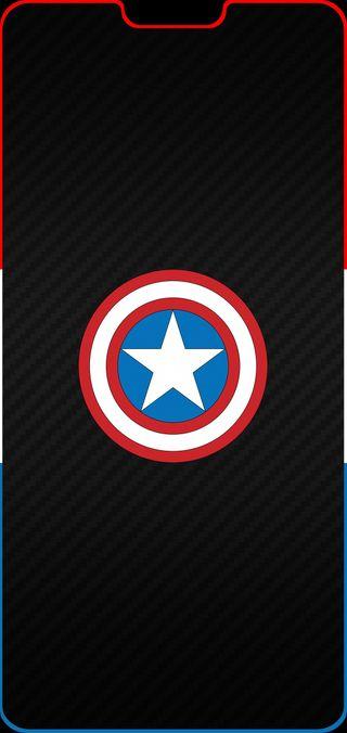 Обои на телефон мстители, линии, капитан, америка, oneplus 6 line, oneplus, captain oneplus 6