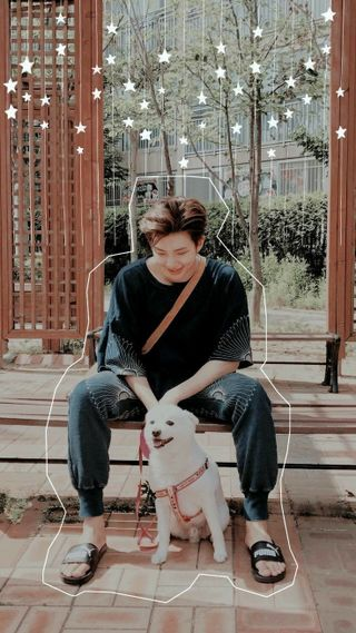 Обои на телефон собаки, намджун, бтс, bangtan, rm, kim, joon, bts