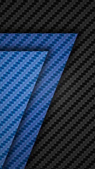 Обои на телефон черные, синие, дизайн, грани, абстрактные, s7 edge