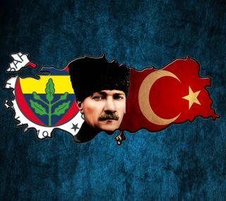 Обои на телефон турецкие, ататюрк, фенербахче
