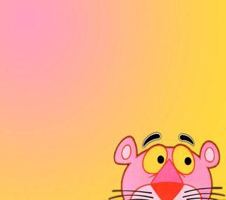 Обои на телефон пантера, розовые, мультфильмы, милые, забавные