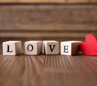 Обои на телефон куб, сердце, любовь, love