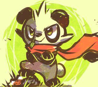 Обои на телефон панда, покемоны