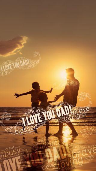 Обои на телефон отец, ты, любовь, день, love, i love you dad