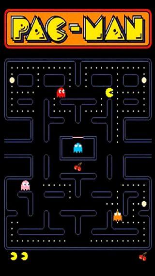 Обои на телефон точки, призрак, игра, аркада, pellets, pac-man, pac, namco, man, 80е