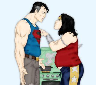 Обои на телефон голливуд, супермен, супергерои, рисунки, мультфильмы, марвел, комиксы, superman wonderwoman, marvel, dc