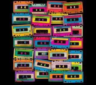 Обои на телефон go, din, cassette