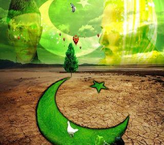 Обои на телефон флаг, свобода, приятные, пакистан, луна, зеленые, звезда, день, land