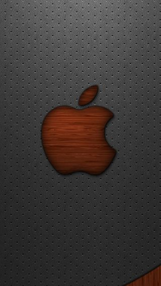 Обои на телефон эпл, логотипы, кожа, дерево, mac, ios, apple