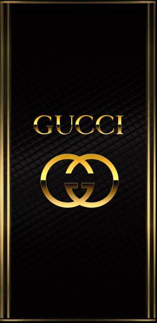 Обои на телефон символы, логотипы, золотые, гуччи, gucci