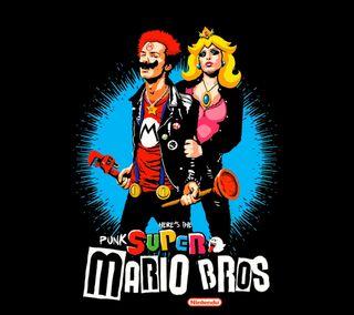 Обои на телефон панк, фан, супер, нинтендо, марио, игра, братья, super mario punk, super mario bros, nintendo, badass