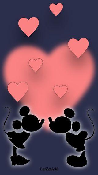 Обои на телефон цифровое, ультра, русалка, пазлы, микки, маленький, любовь, дисней, абстрактные, man, love, disney love